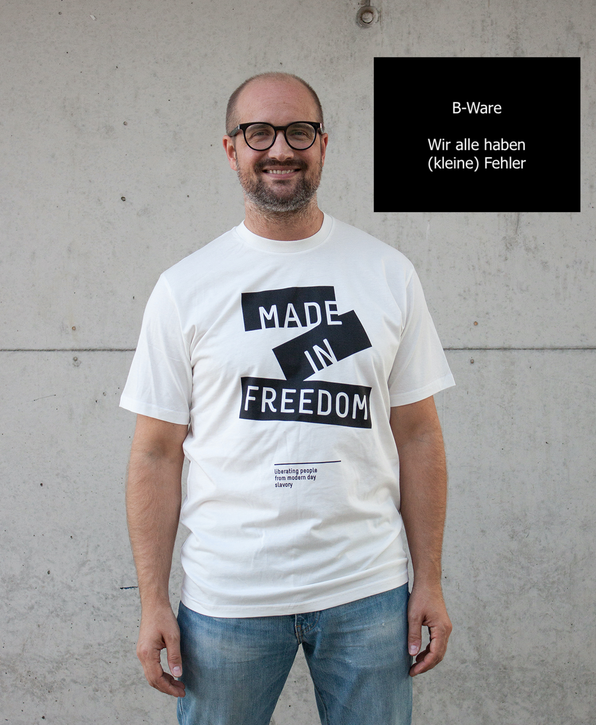 B-Ware made in freedom Print T-Shirt